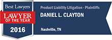 Best Lawyers - Daniel Clayton